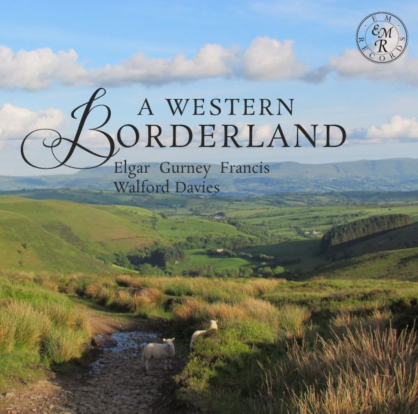 A Western Borderland album cover EMRCD034