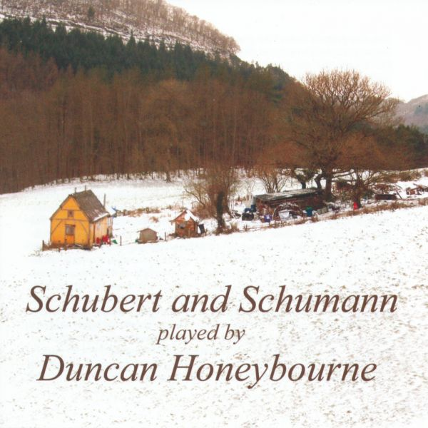 Schubert and Schumann played by Duncan Honeybourne (Forbury Records FR1612514) album cover