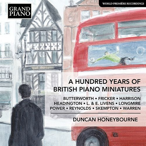 'A hundred years of British Piano Miniatures' album cover GP789