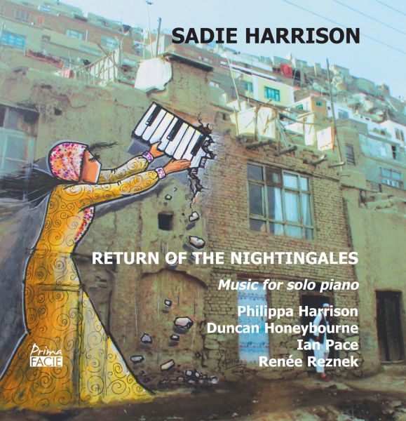 'Return of the Nightingales: Music for Solo Piano by Sadie Harrison' album cover