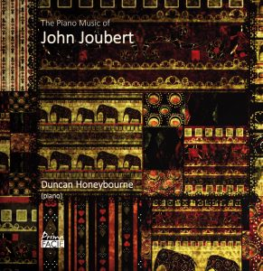 The Piano Music of John Joubert album cover PFCD097
